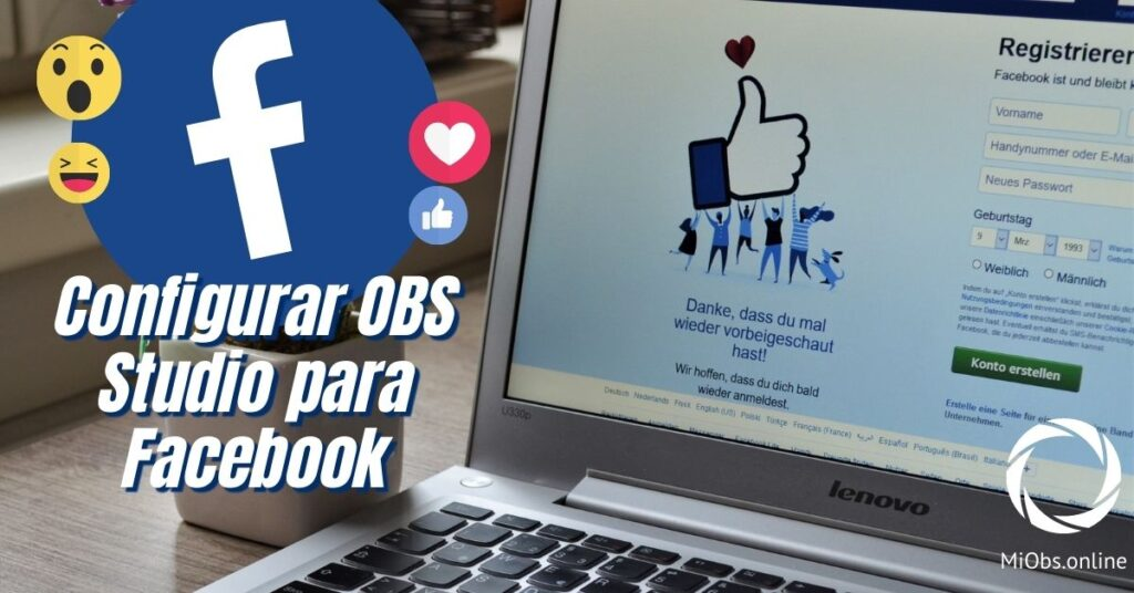 Como configurar facebook y obs studio