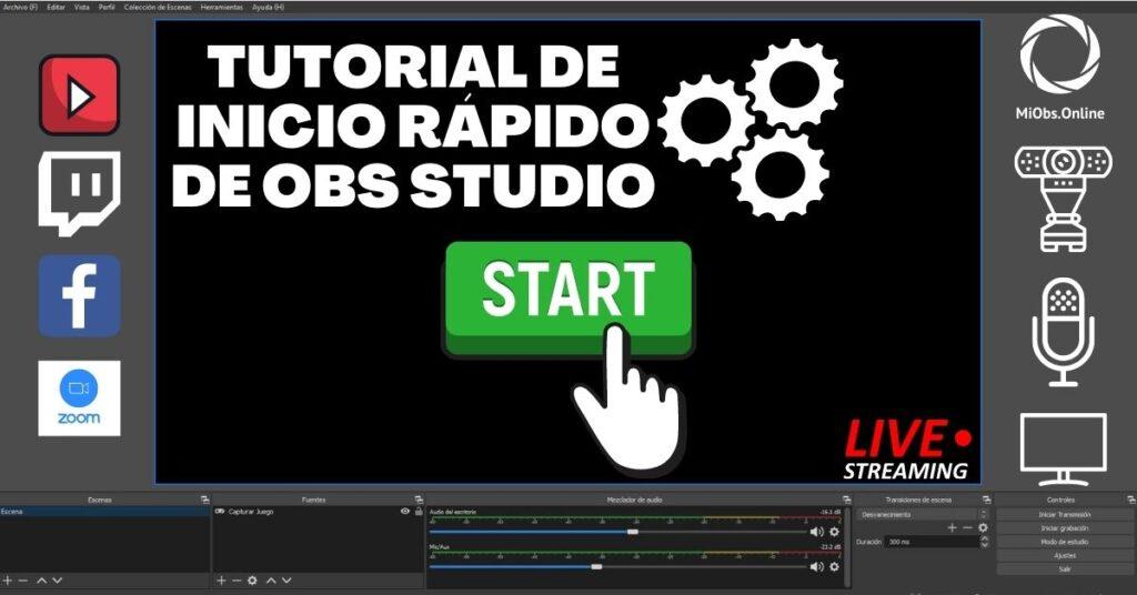 tutorial de inicio OBS Studio