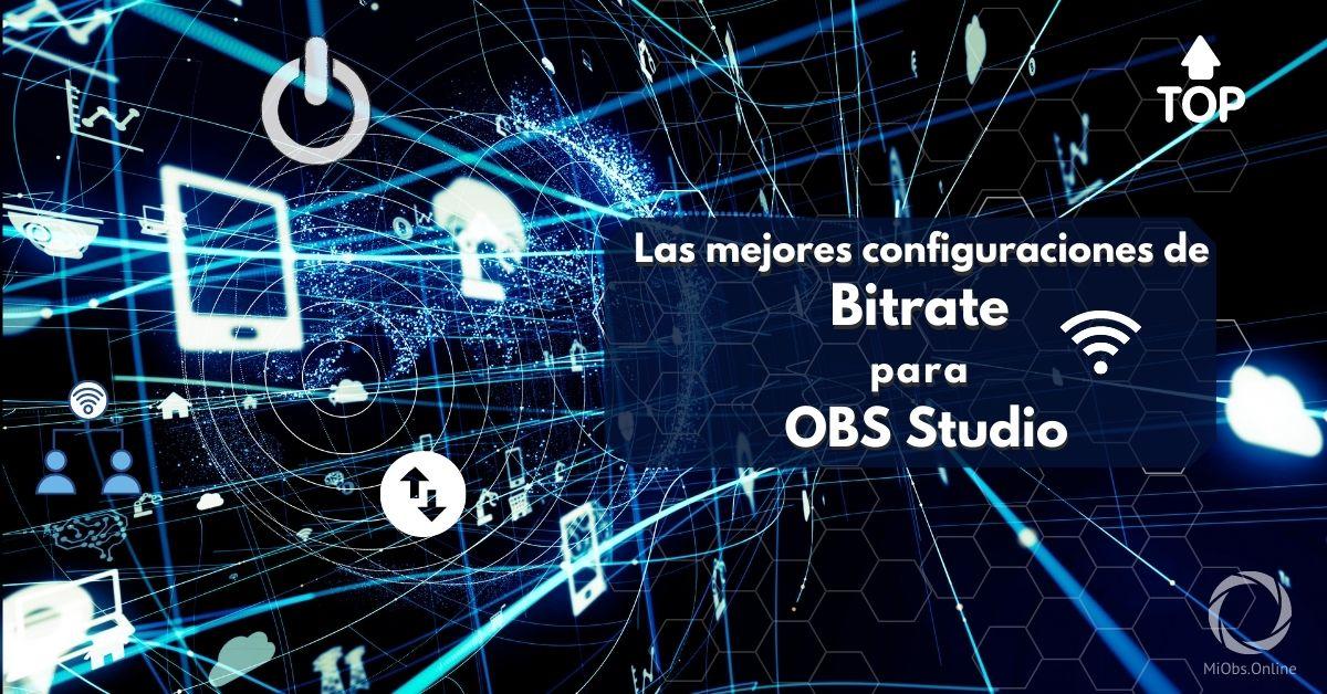 Bitrate para OBS studio