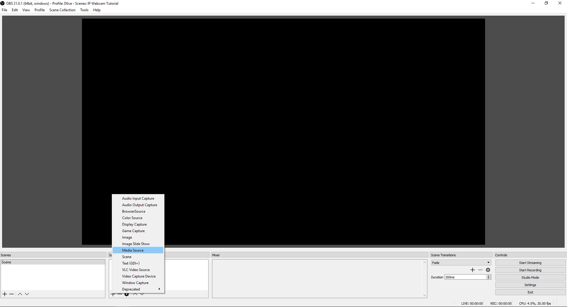 Captura de pantalla de OBS Agregar fuente multimedia.png