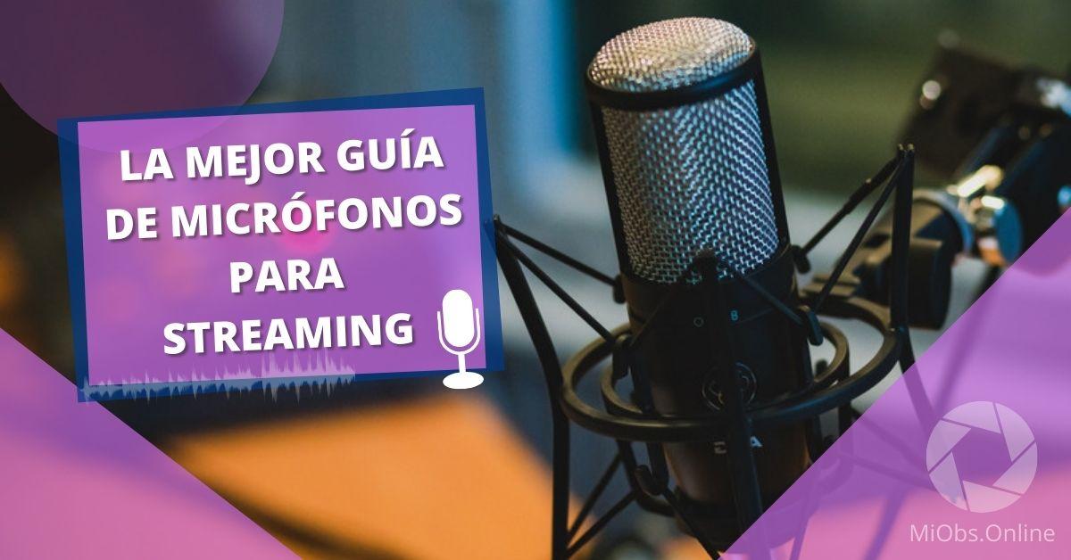 elegir micrófono para directos desde pc